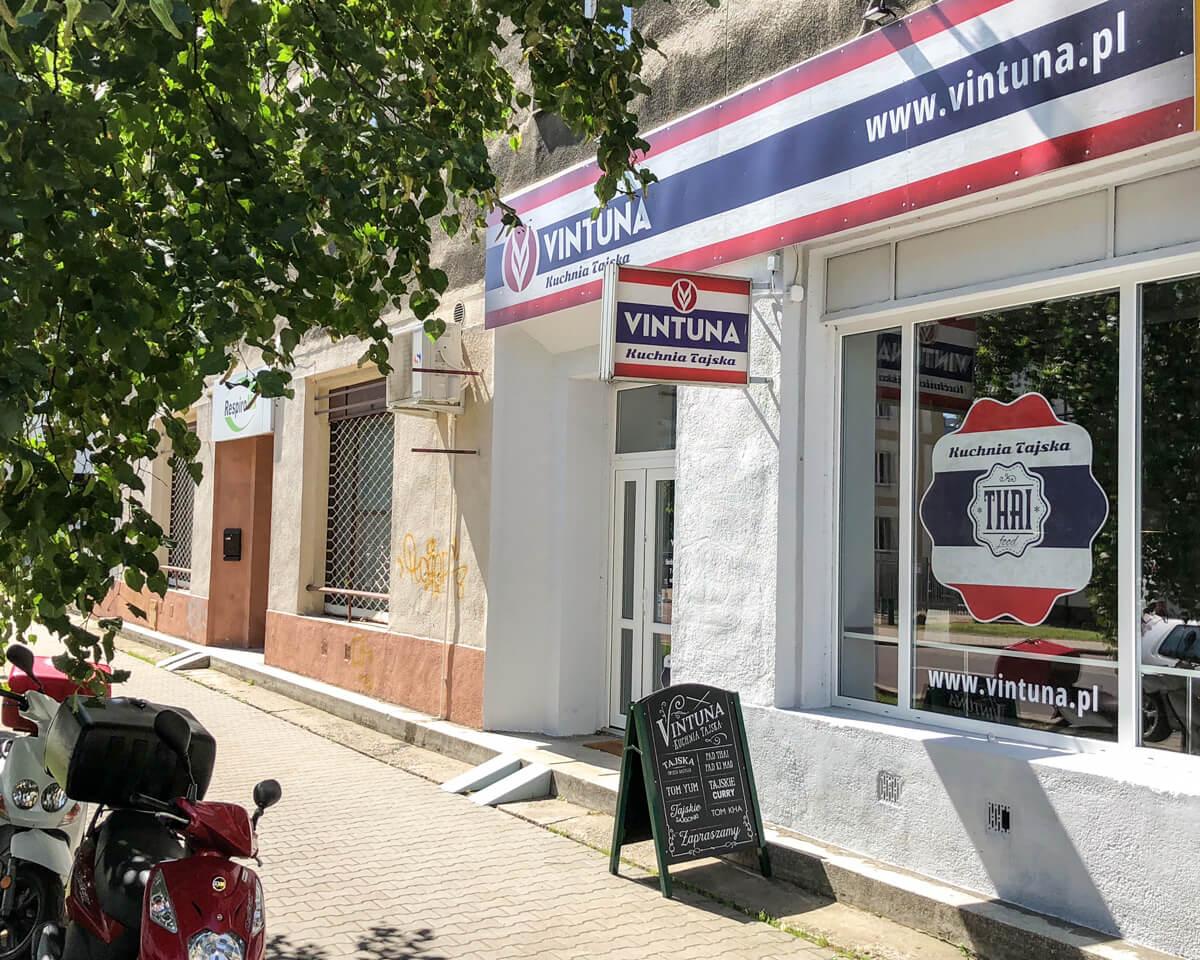 Vintuna Kuchnia Tajska - Ciołka 15 - Warszawa - Wola