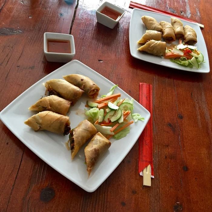 Vintuna Kuchnia Tajska - Tajskie sajgonki z krewetkami
